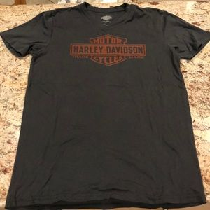Harley Davidson Cotton Tee Shirt Sz Medium